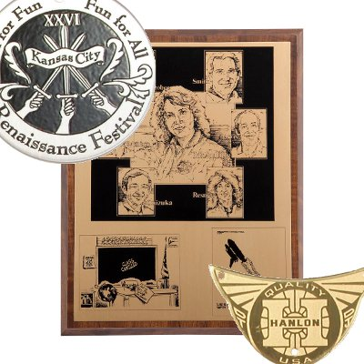 Etched Plaques and Signs