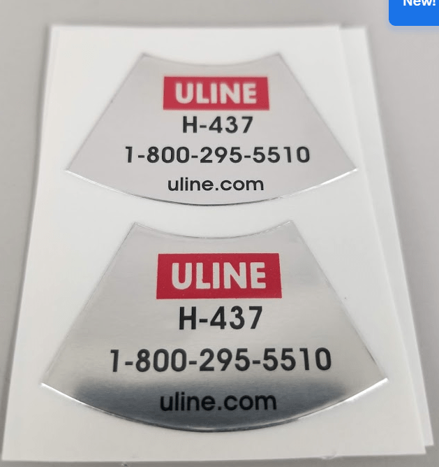 Uline Colored Labels